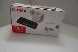 Canon Fx4 Black Toner Cartridge 4k Page-yield Lc8500 Lc9000 1558a002 Fx 4 New