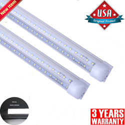 8ft Led Tube Light 120w 72w 4ft 36w 2ft 18w T8 Integrated 8and039 T8 V-shape Fixture
