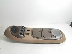 FORD EXCURSION OVERHEAD CONSOLE DOME LIGHT CLIMATE TAN BROWN OEM XL14 78519A58