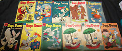 Vintage Golden Age Dell Bugs Bunny Comic Lot 11pc Vg-f