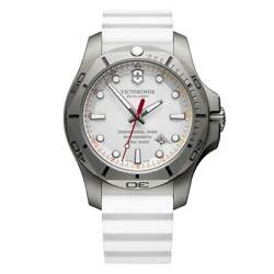 Victorinox Swiss Army Menand039s Watch I.n.o.x. Professional Diver White Strap 241811