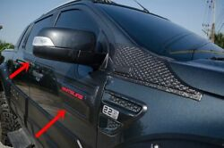 Ranger 2015 Upper Abs Black Doors Body Clading For Double Cab Set Of4 Pc