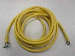 2/0 Awg Gauge Port Engine Electrical Wire Yellow 17 1/2' Marine Boat