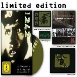 Front 242 Moments In Budapest Dvd+cd Ltd. Edt. New+