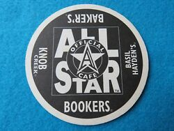Beer Coaster All Star Official Cafe Bookers Bakerand039s Knob Creek Haydenand039s +