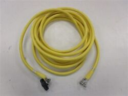 1/0 Awg Gauge Electrical Wire Yellow 23' Starboard Engine Marine Boat
