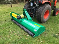 Tractor Mounted Flail Mower Topper 1.75m . Off Set. Andpound1799 Inc Vat And Delivery