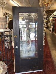 Front Door Arts And Crafts Craftsman Style Beveled Glass 79x35.5