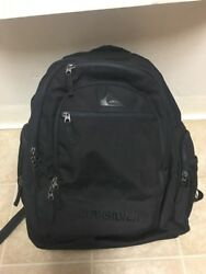 Mens Quicksilver Daddy Day Bag Diaper Black Backpack Manbag Baby