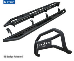 For 2007-2021 Toyota Tundra Crewmax Cab Tyger Armor And Bumper Guard Combo