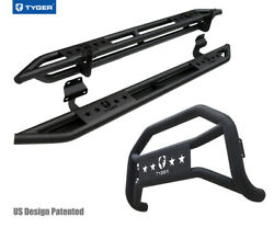 For 2017-2021 F-250 And F-350 Supercab Tyger Armor And Bumper Guard Combo