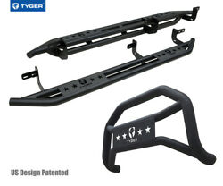 For 09-18 Ram 1500 Quad Cab Excl. Rebel Model Tyger Armor And Bumper Guard Combo