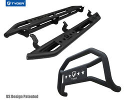 For 2007-2021 Toyota Tundra Double Cab Tyger Armor And Bumper Guard Combo