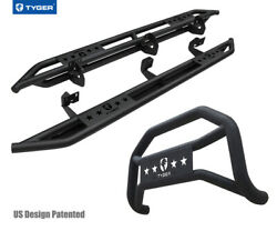 For 09-14 F150 Supercrew Cab Excl Raptor, Eco Tyger Armor And Bumper Guard Combo