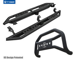 For 2005-2021 Toyota Tacoma Access Cab Tyger Armor And Bumper Guard Combo