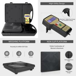 Charging Digital Weight Scale Refrigerant Electronic Case With Black Profession