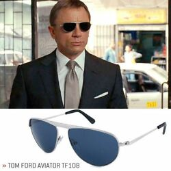 NEW Tom Ford James Bond 007 Sunglasses & Receipt  (TF108 19v)  Quantum of Solace