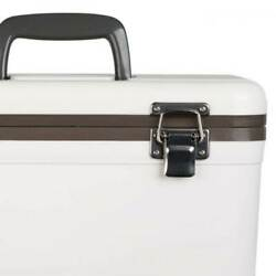 Engel 13 Quart Compact Durable Ultimate Leak Proof Outdoor Dry Box Cooler White $49.99