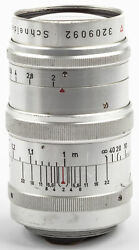 Schneider M39  Leica 2/80mm Xenon only two pieces produced SHP 49711