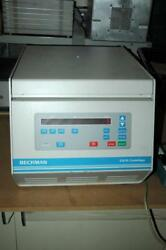Beckman Gs-15 Spinco Centrifuge And Bucket Rotor Works Well 30d Warranty