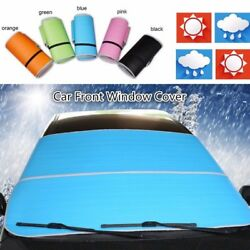 Foldable Auto Car Front Window Sun Shade Visor Block Front Windshield Snow Cover