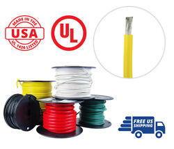 4 Awg Marine Wire Tinned Copper Battery Boat Cable 100 Ft. Yellow Made In Usa
