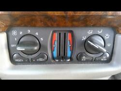 Heater Climate Temperature Control With Dual Zone Opt CJ3 Fits 00-03 IMPALA 7253