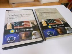 Great Courses Experiencing America Tour Through American History 4 Dvds + Book