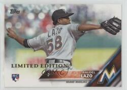 2016 Topps Limited Edition Raudel Lazo 436 Rookie