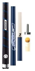 Predator Sport 2 Stratos + Wrap Playing Cue 314-3 12.75mm Shaft - Jt Caps And Case