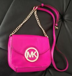 Michael Kors Crossbody Purse hand bag designer 100% Authentic