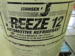Virgin Johnsens Freeze 12 Freon 19.5 LBS best replacement for R-12 refrigerant