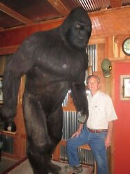 BIG FOOT MODEL 8 FT TALL FINEST AVAILABLE BY ARTIST NEAL DEATON
