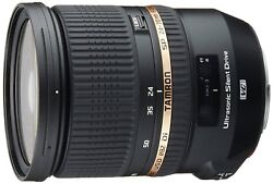 Tamron Sp 24-70mm F/2.8 Di Vc Usd A007e Fast Zoom Lens For Canon Ems W/ Tracking