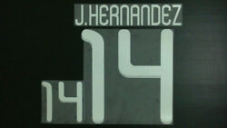 Javier Hernandez 14 Mexico Home And Away World Cup 2010 Name Set
