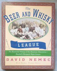 History Of American Association 1882-1891 By Nemec Beer And Whisky League Baseball