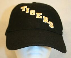 Mizzou Tigers Univ-mo Nike Embroidered Letters Logo Black Adjustable Cap Hat