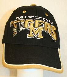 Mizzou Tigers Univ-mo Top Of The World Gold Embroidered Logo Adjustable Cap Hat