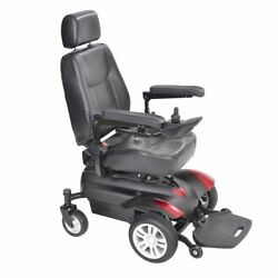 Titan Transportable Front Wheel Power Wheelchair - Full Back Captainand039s Seat