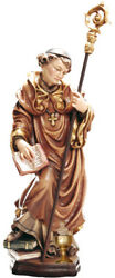 Statue Santand039 Above With Stem Glass And Jesus Child - St. Altus Chalice And