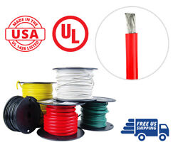 1/0 Awg Marine Wire Tinned Copper Battery Boat Cable 50 Ft. Red Made In Usa