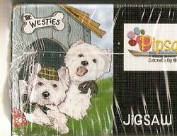 West Highland Terrier The Westies Jigsaw Puzzle 1000 piece Westie B