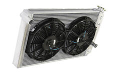 3 Row Performance Radiator+12 Fans For 82-02 Chevy S10 V8 Conversion Only