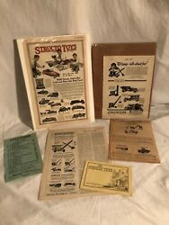 Structo Toys Catalog Paper Advertising Lot Price List