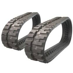 Pair Of Prowler New Holland C227 C-lug Tread Rubber Tracks - 320x86x50 - 13