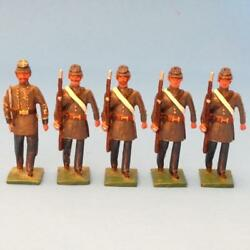 Cowf-166 - 165 Confederate Marines Officer And Rifles - Acw - Martin Ritchie
