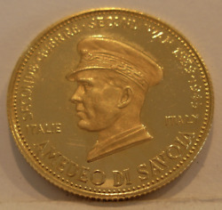 Venezuela 1958 Gold Medal World War Ii Issue - Amedeo Di Savoia Of Italy