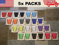 5 Pack No Tie Shoelaces For Women, Men, And Kids - Silicone Shoe Laces No-tie