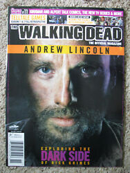 The Walking Dead Official Magazine 11 Dark Side Of Rick Grimes Andrew Lincoln