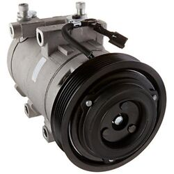 Four Seasons 58185 New AC Compressor with Specific Electrical Connector